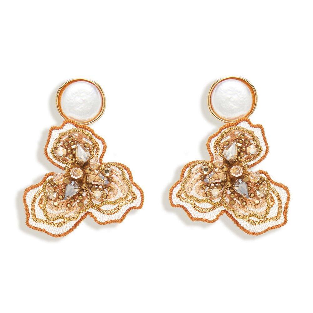 Sasha Pearl Earrings Item # E504