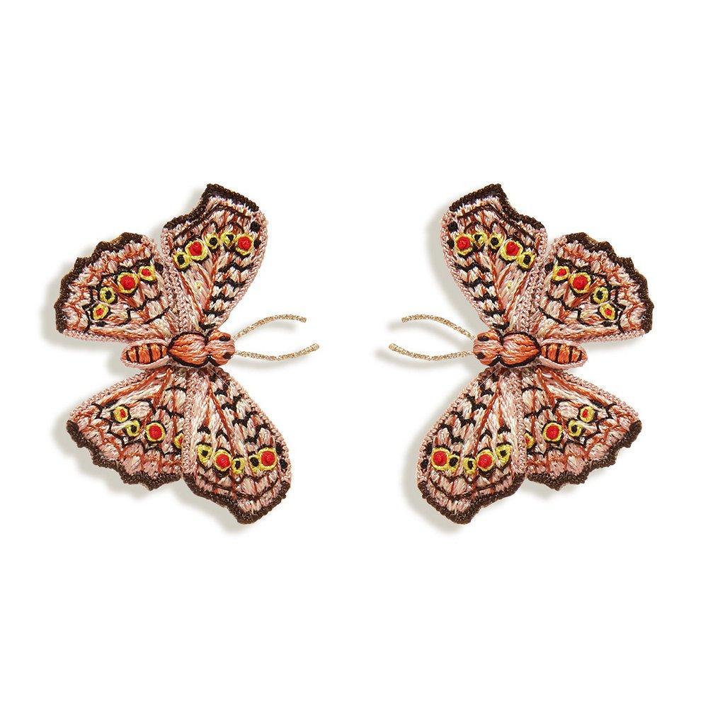 Sylvie Butterfly Earrings Item # E507