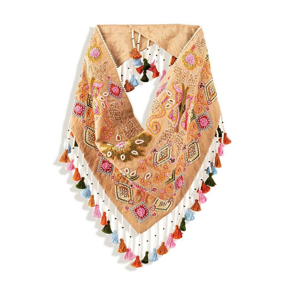 Hollis Tassel Scarf Necklace Item # N243