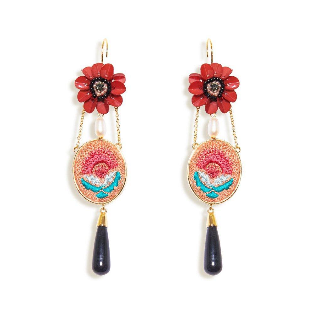 Pari Drop Earrings Item # E500