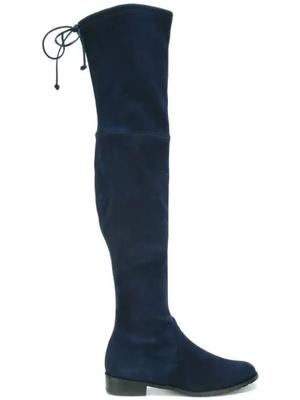 Lowland Suede Over the Knee Boot