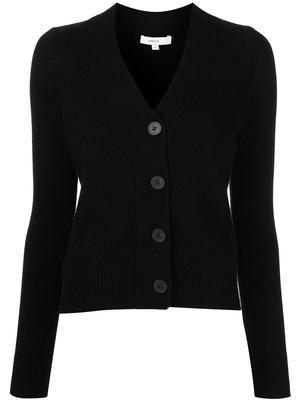 Shrunken Button Front Cardigan