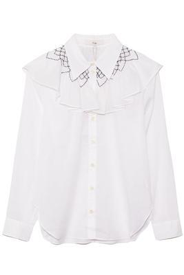 Emma Smocked Shirt