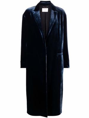 Velvet Volumes Coat