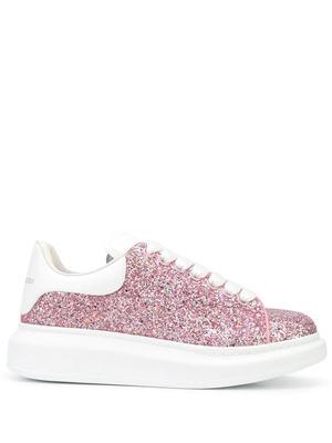 All Over Glitter Platform Sneaker