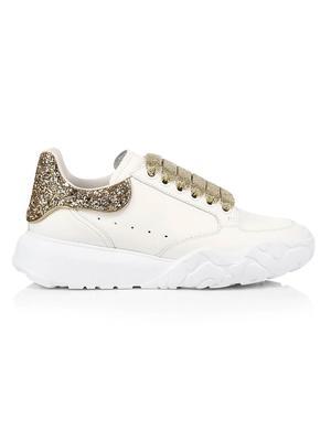 Glitter Back Platform Sneaker