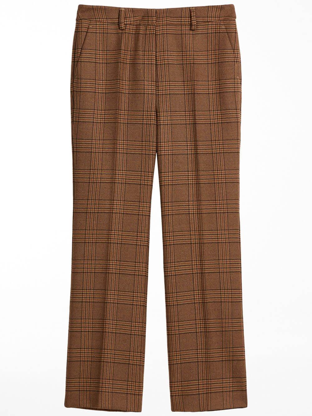 Gel Plaid Trouser Item # 5136071306