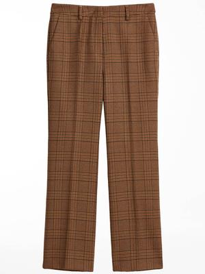 Gel Plaid Trouser