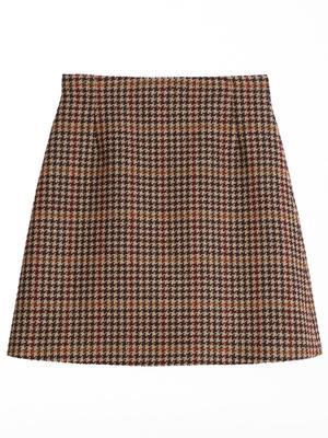 Brama Plaid Skirt