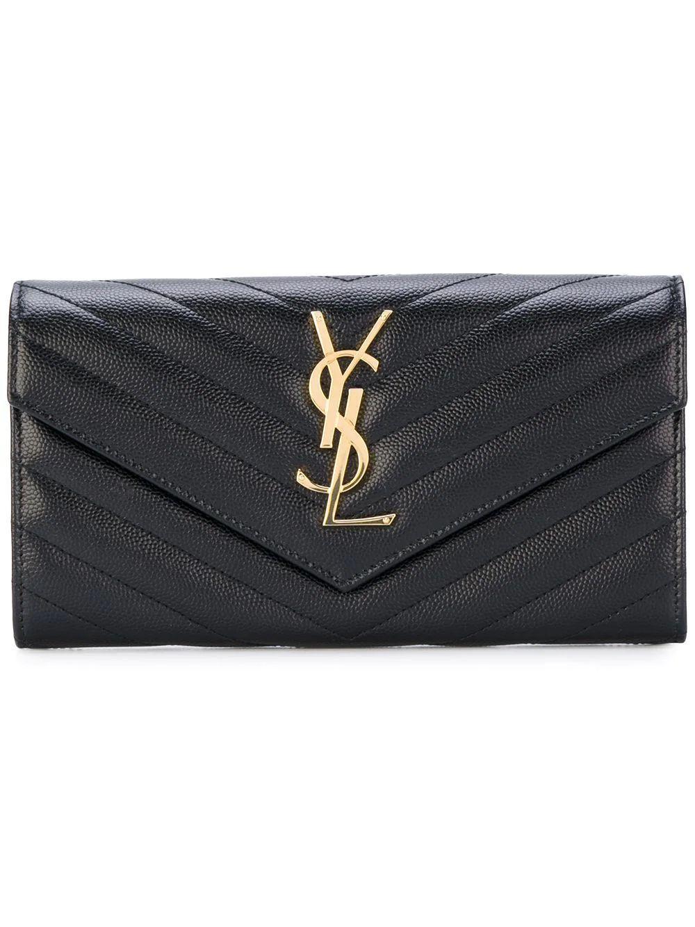 Monogram Flap Wallet Item # 372264BOW01-F21