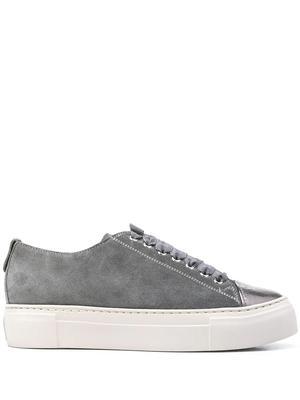 Platform Velvet Sneaker