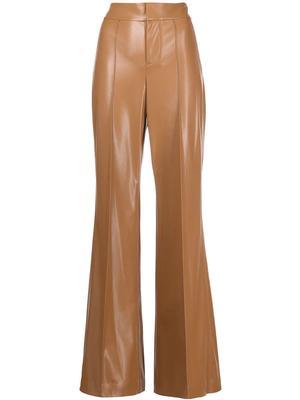 Dylan Vegan Leather Wide Leg Pant