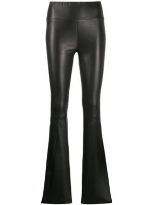 Micro Flare Leather Pant