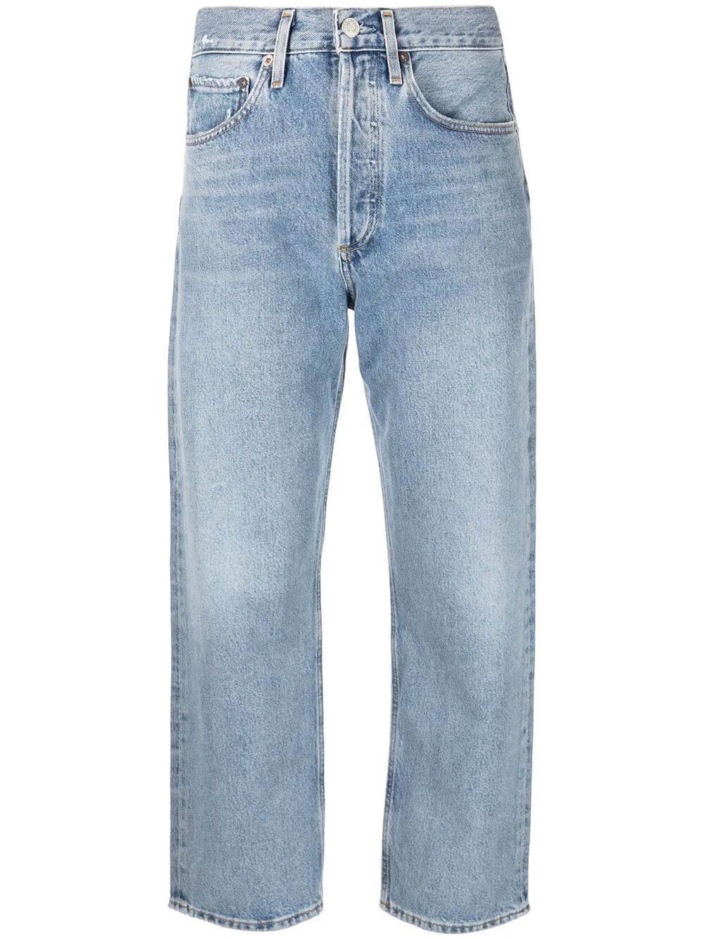 90's Crop Straight Leg Jean Item # A173-1141