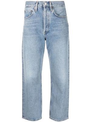 90's Crop Straight Leg Jean