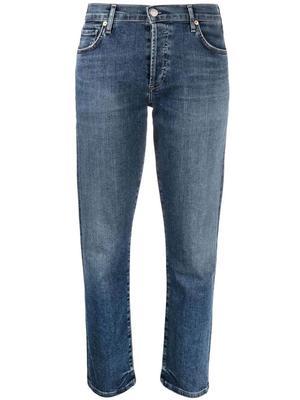 Emerson Cropped Straight Leg Jean