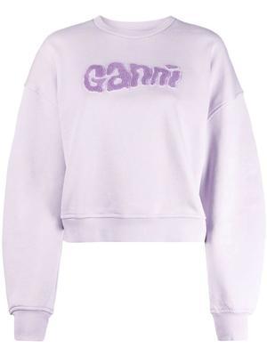 Isoli Ganni Logo Sweatshirt