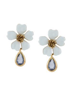 Baroque Flower Earring