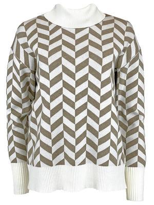 Boxy Chevron Sweater
