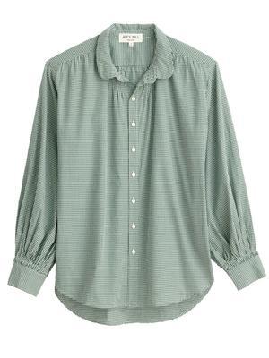 Kit Shirt in Mini Gingham
