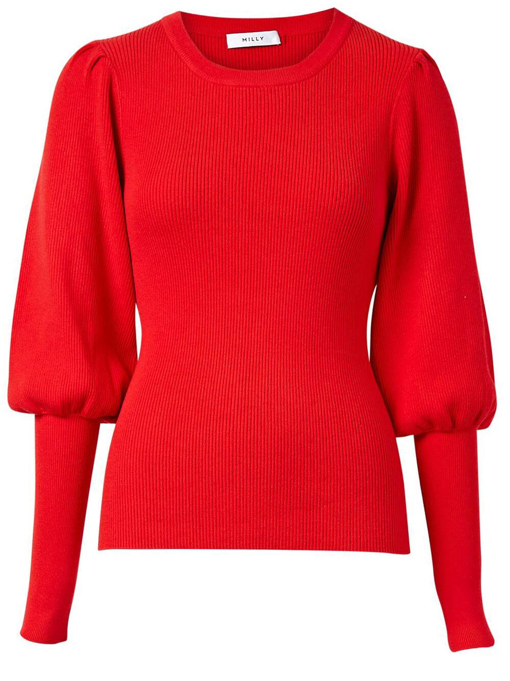 Poof Sleeve Sweater Item # KRT028