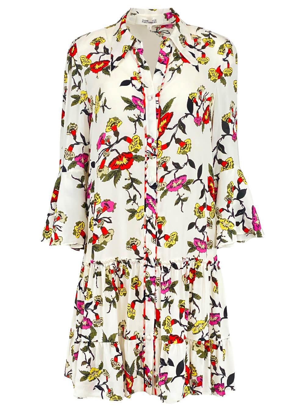 Beata Shirt Dress Item # DVFDL3P005