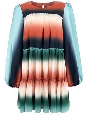 Leeann Tiered Ruffle Dress