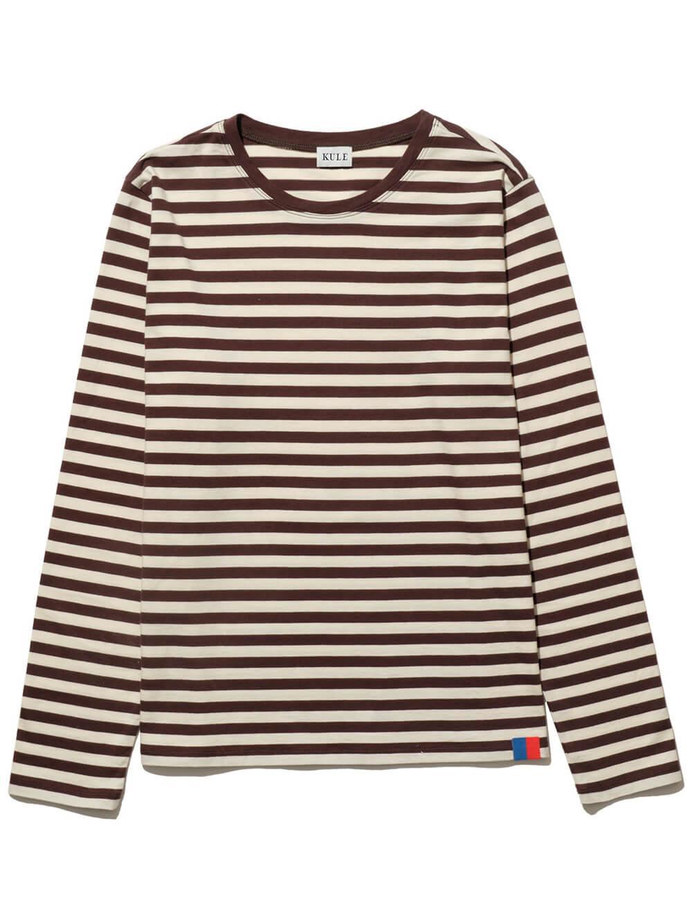 The Modern Long Sleeve Stripe Tee Item # ML01F3
