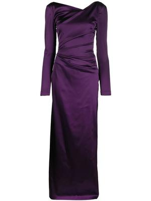 Roya7 Column Gown