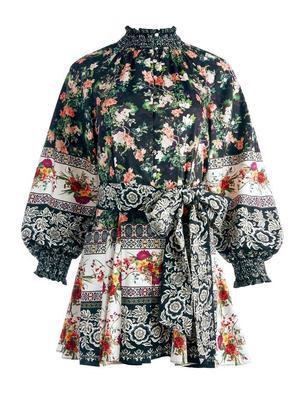 Janis Floral Mini Dress