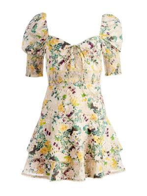 Crawford Floral Mini Dress