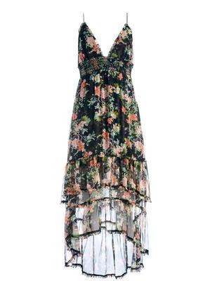 Imogene Hi-Low Floral Dress