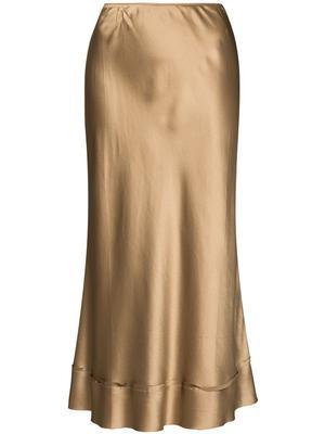 Stella Silk Satin Skirt