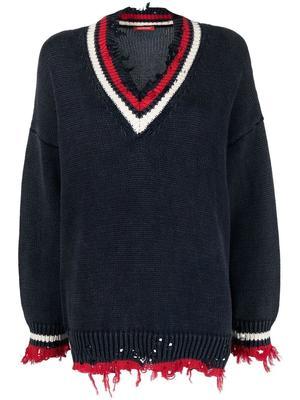 Oversized Tennis Sweater