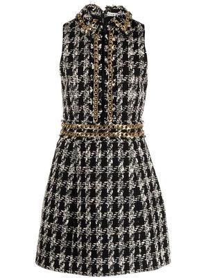 Ellis Chain Trim Mini Dress