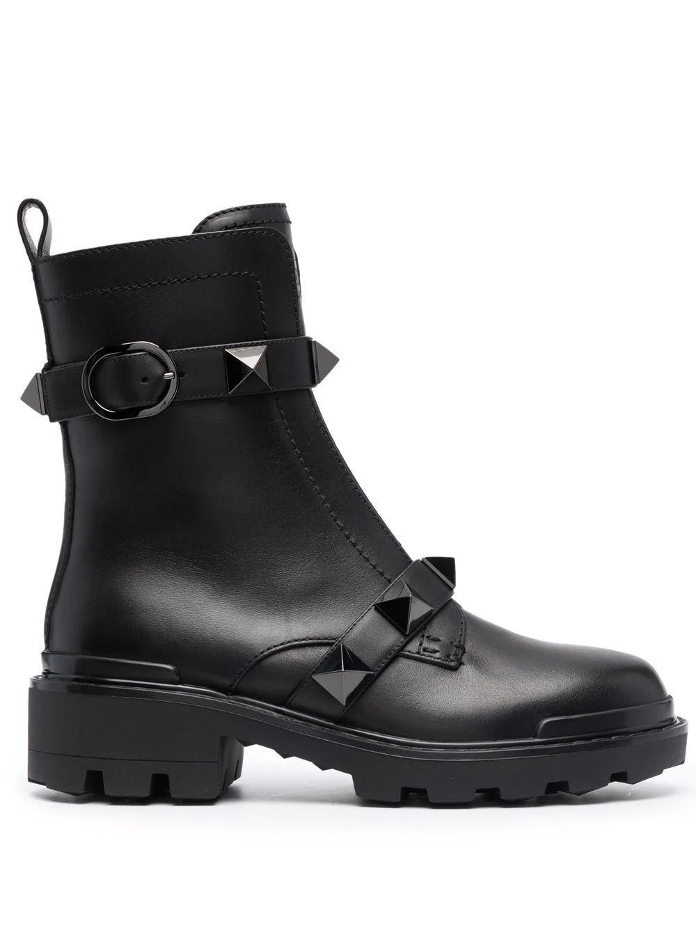 Roman Stud Combat Boots Item # WW2S0CJ3FYP