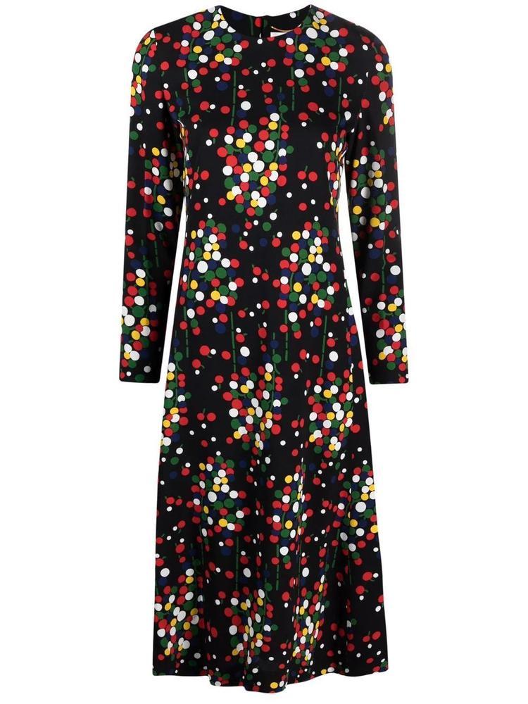 Long Polka Dot Dress Item # 663410Y5D23