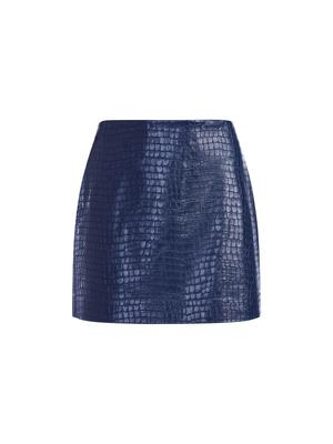 Elana Vegan Leather Mini Skirt