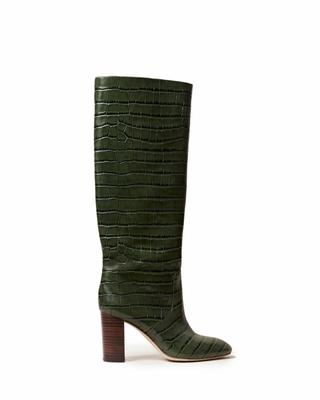 Goldy Embossed Tall Boot