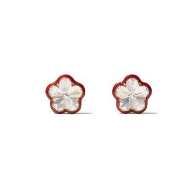 Swarovski Flower Stud Earrings