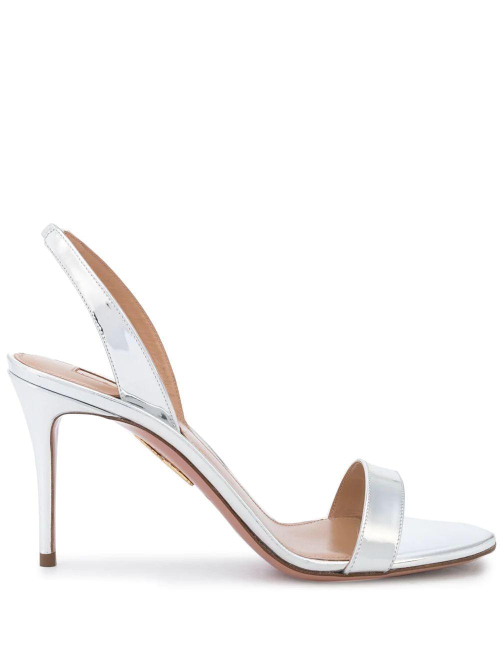 So Nude 85mm Sandal Item # SNUMIDS0-SPE-PF21