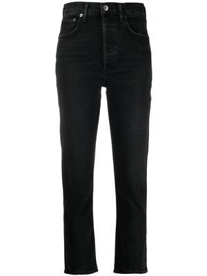 Riley Straight Leg Cropped Jean