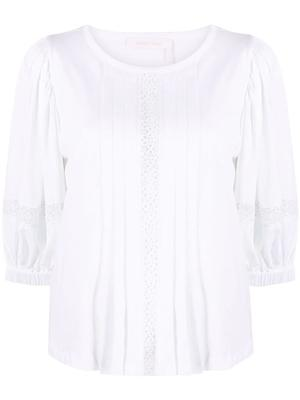 Cotton Jersey Embellished Tee