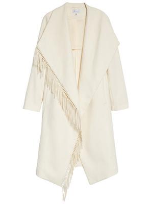 Fringe Wool Coat