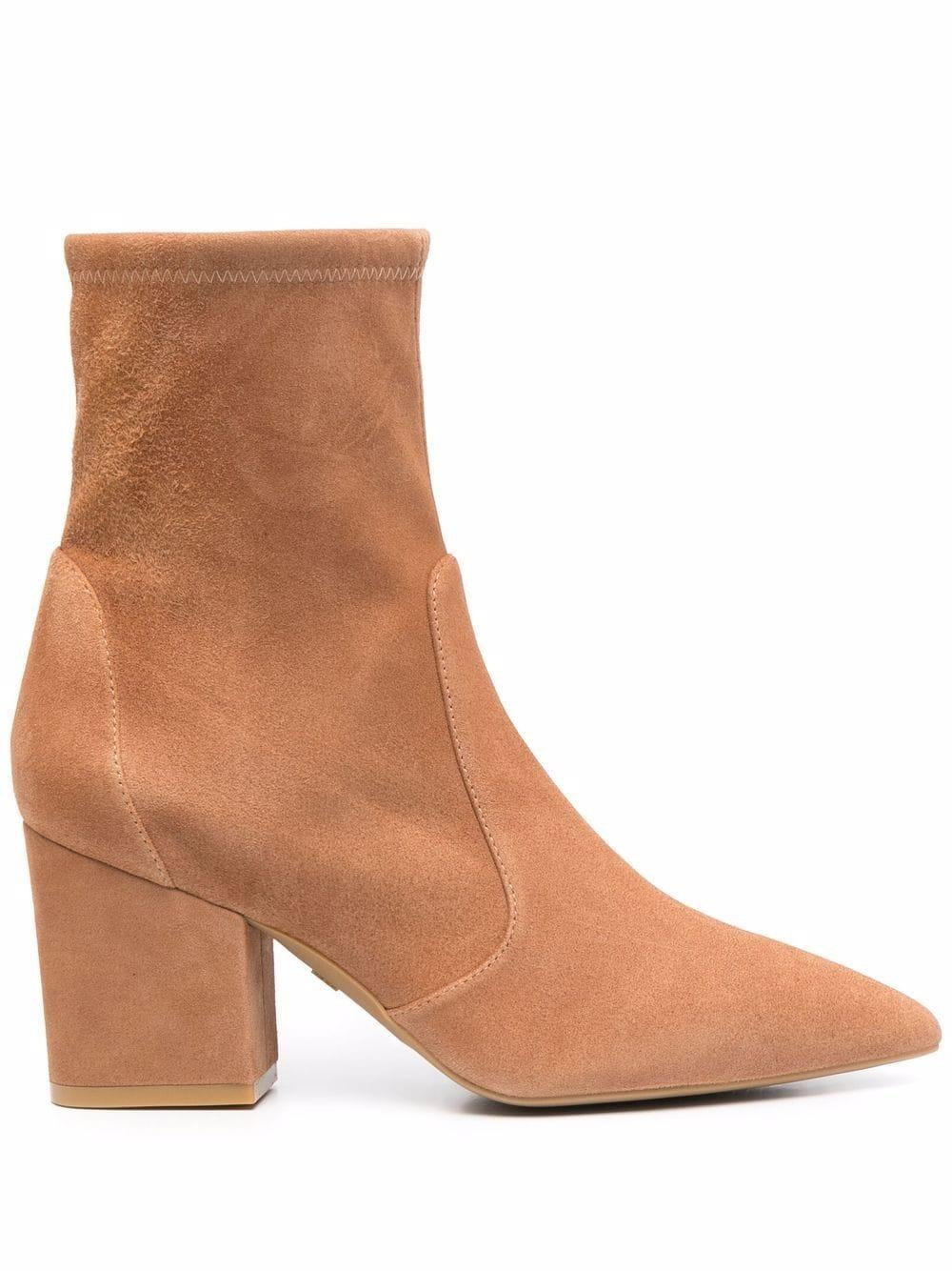 Vernell Stretch Suede Bootie Item # VERNELL75