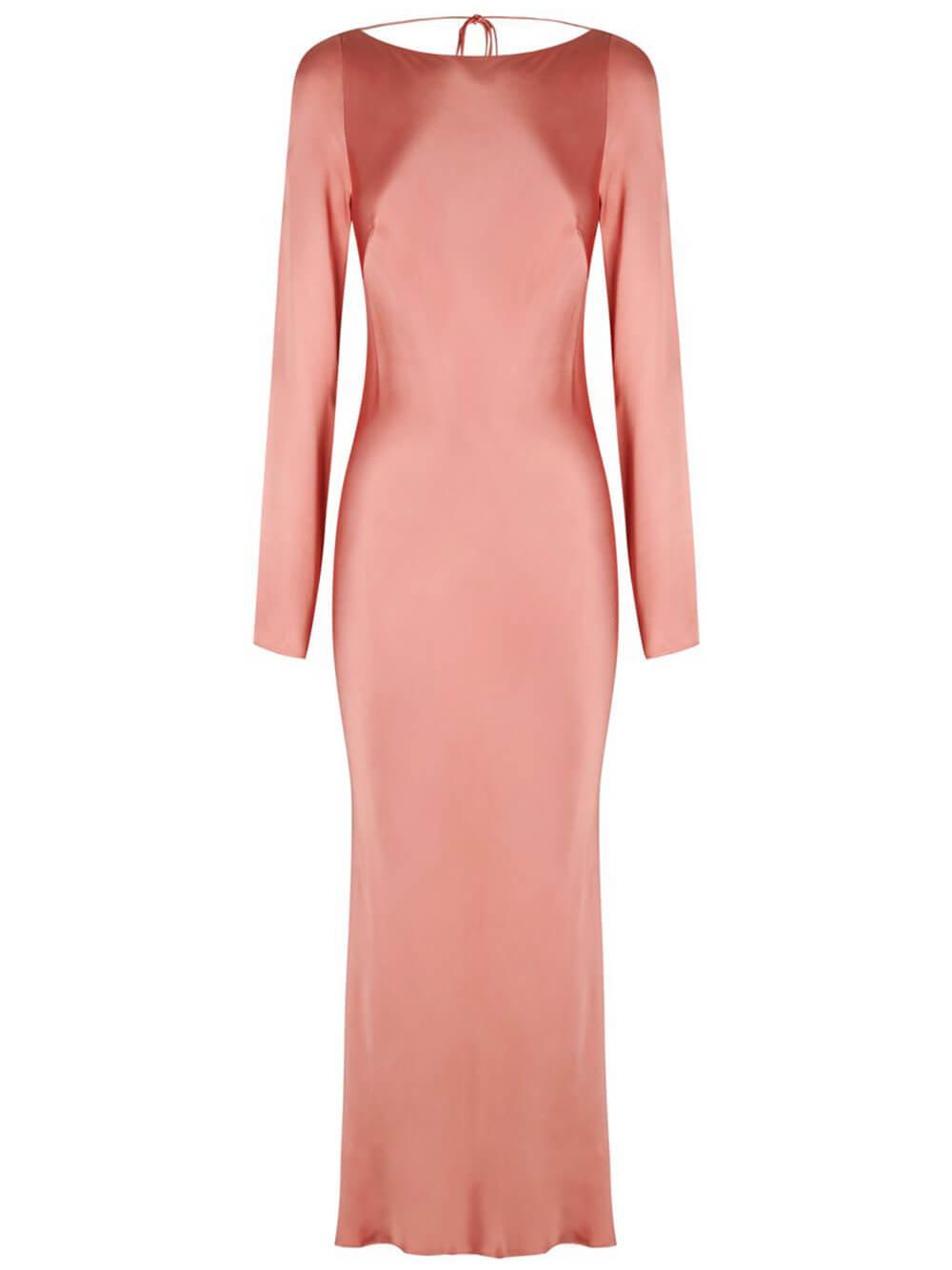 Eloise Backless Midi Dress Item # 213061