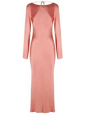 Eloise Backless Midi Dress