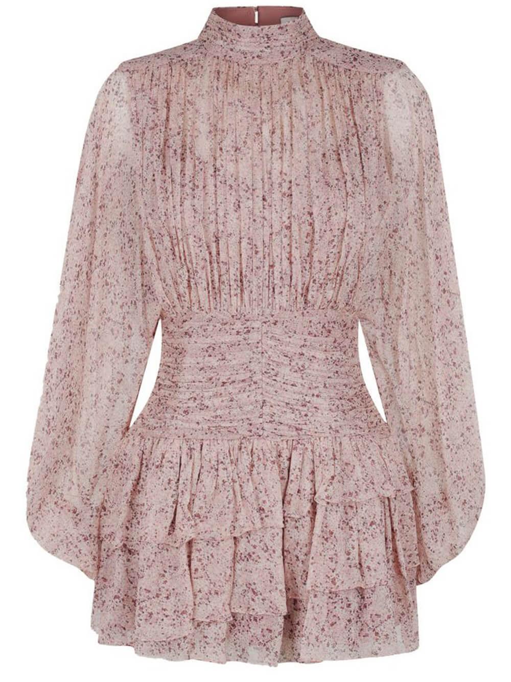 Paulette Ruched Mini Dress Item # 213059