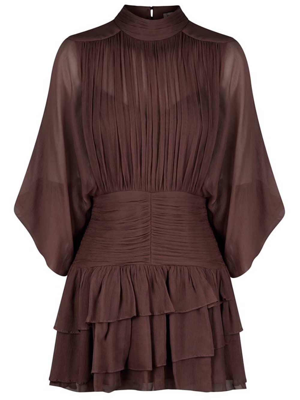 Olympia Ruched Mini Dress Item # 213057