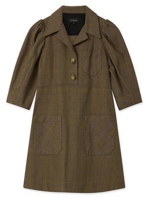 Glen Check Mini Dress